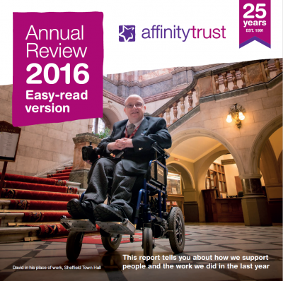 Annual Review 2016<br><small>Easy Read Version</small>