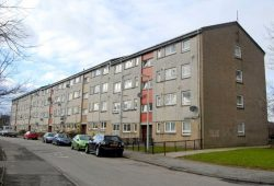 A block of low-rise flats
