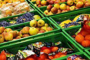 Fruit in a supermarket